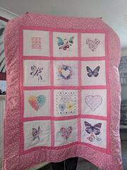 Courtney K's quilt