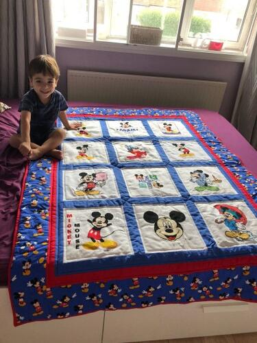 Photo of Adam Bs quilt