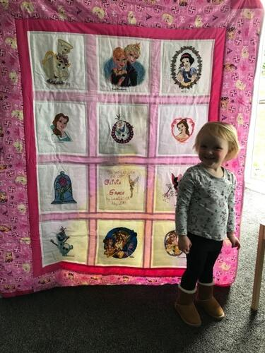 Photo of Olivia-Graces quilt