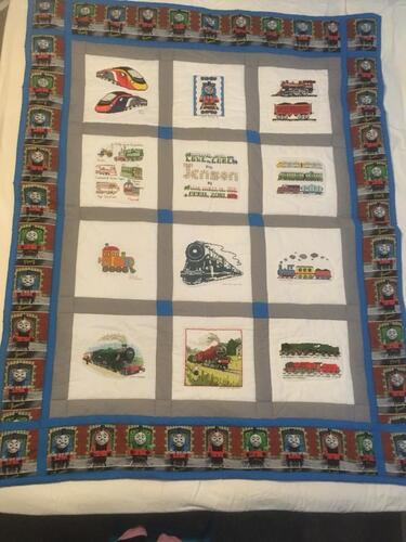 Photo of Jenson Bs quilt