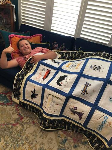 Photo of Archie Ms quilt