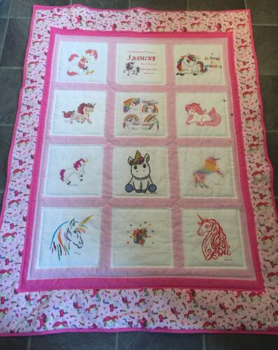 Photo of Jasmine Ws quilt