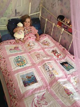 Photo of Ivy Ws quilt