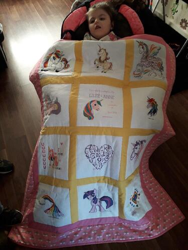 Photo of Lilee-Anne Gs quilt