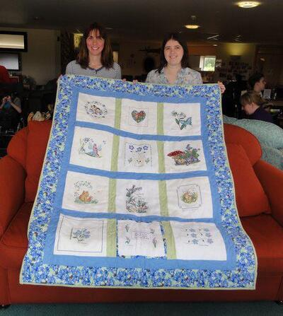 Photo of Forget-Me-Not Quilts quilt