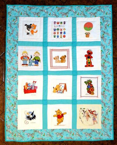 Photo of (QUILTED) Young Cartoonss quilt