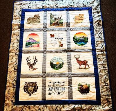 Photo of Robin Ts quilt