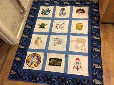 Photo of Jake Fs quilt