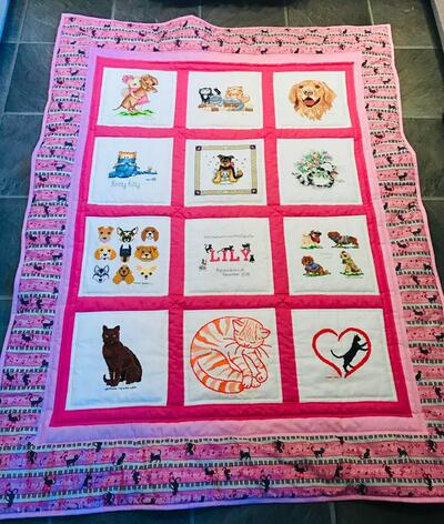 Photo of Lilys quilt