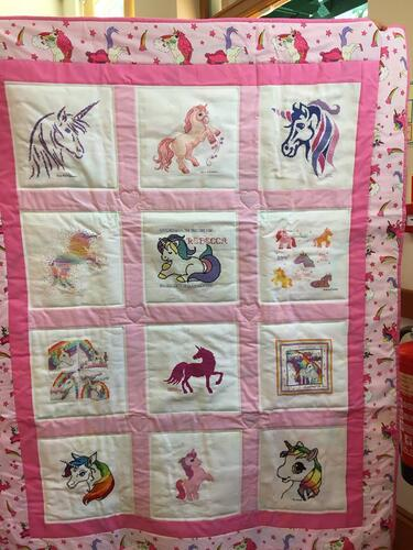 Photo of Rebeccas quilt