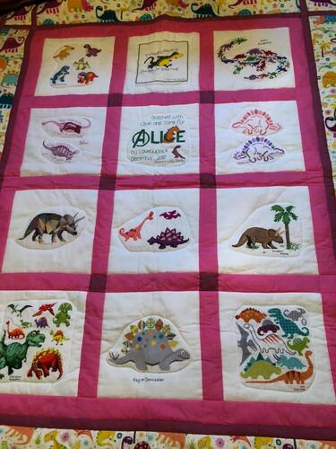 Photo of Alice Rs quilt
