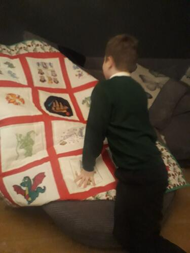 Photo of Cody Ss quilt
