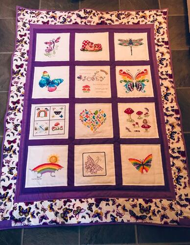 Photo of Josey Ls quilt