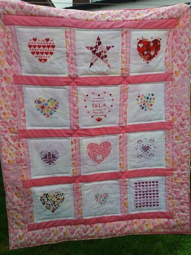 Photo of Isla Is quilt