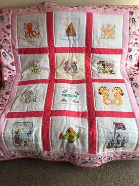 Photo of Matilda Js quilt