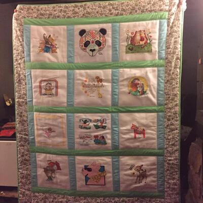 Photo of Yehuda Ms quilt