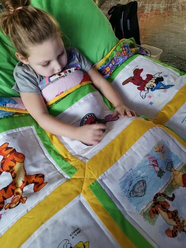 Photo of Evalyn Cs quilt
