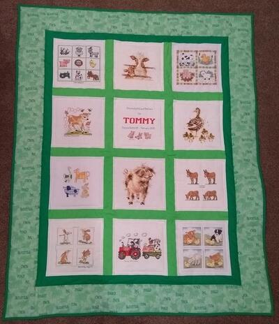 Photo of Tommy Ms quilt