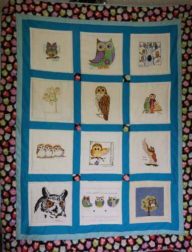Photo of Ava-Marie Ws quilt
