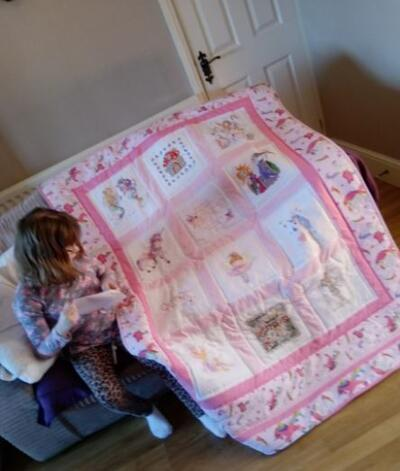 Photo of Grace Bs quilt