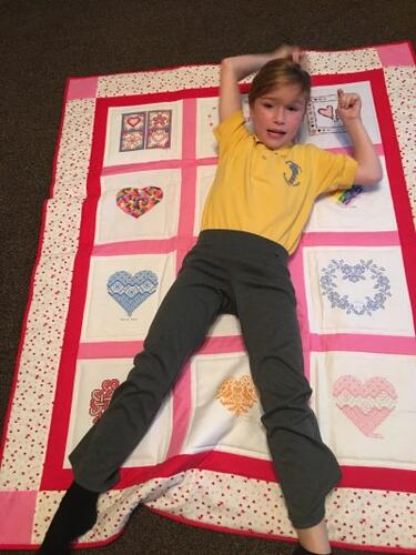 Photo of Jennifer Ws quilt