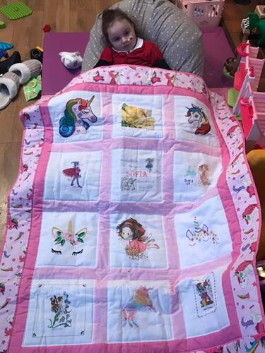 Photo of Sofia Ts quilt
