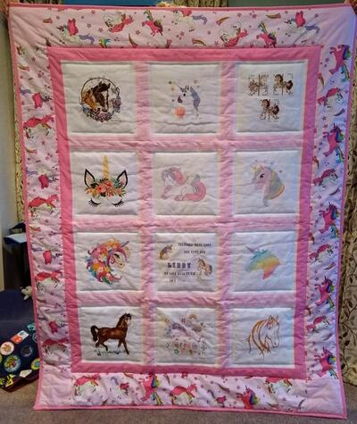 Photo of Libby Ts quilt