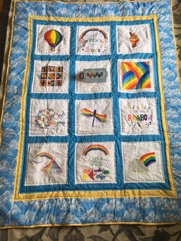 Photo of Dillys quilt