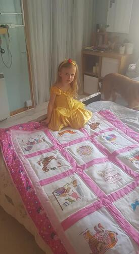 Photo of Scarlett Cs quilt