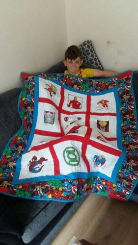 Photo of Khalen Ss quilt