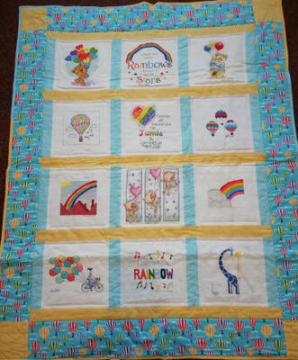 Photo of Jamie Ss quilt