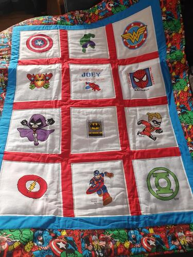 Photo of Joey Ws quilt