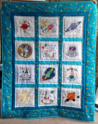 Photo of Ellis Gs quilt