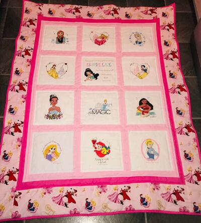 Photo of Isabelle Bs quilt