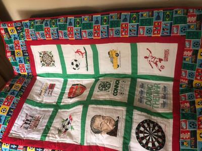 Photo of Connor Ms quilt