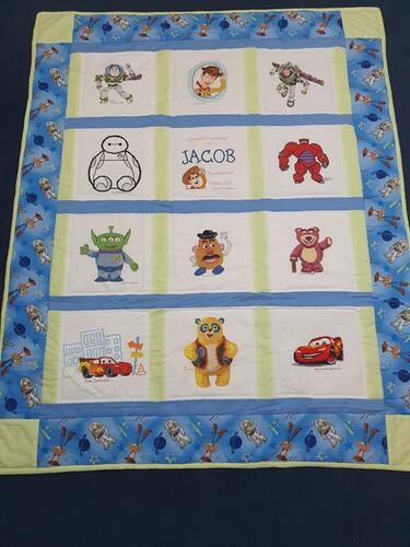 Photo of Jacob Cs quilt