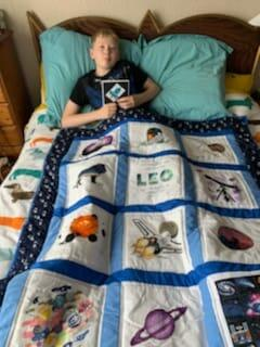 Photo of Leo Ss quilt