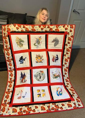 Photo of Katie As quilt