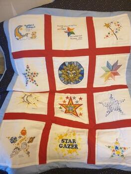 Photo of Aryan Ss quilt