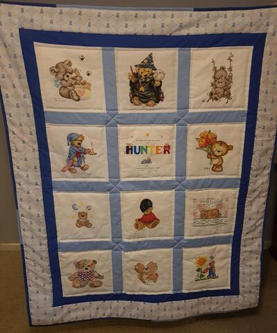 Photo of Hunters quilt