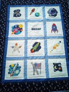 Photo of Henry Ns quilt