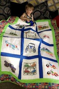 Photo of Aniello Ds quilt
