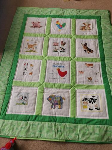 Photo of Freddies quilt