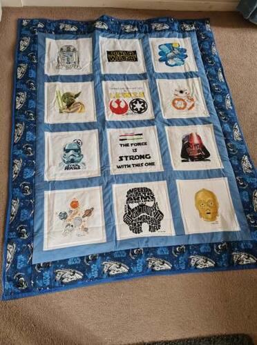 Photo of Lewis Ss quilt