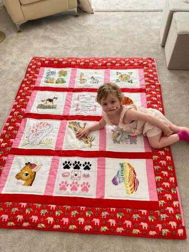 Photo of Madeleine As quilt