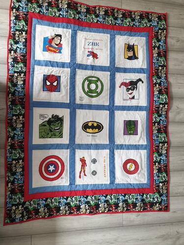 Photo of Zak Ys quilt