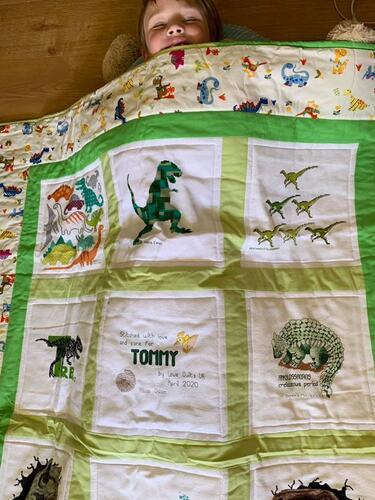 Photo of Tommy Ps quilt