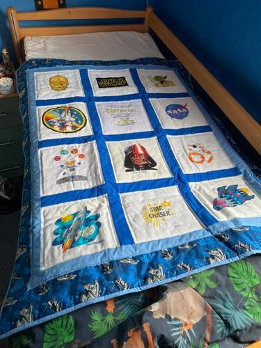 Photo of Camerons quilt