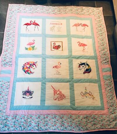 Photo of Josselin Ts quilt