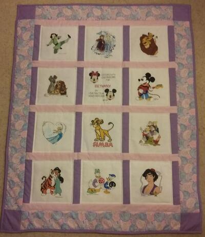 Photo of Bethanys quilt